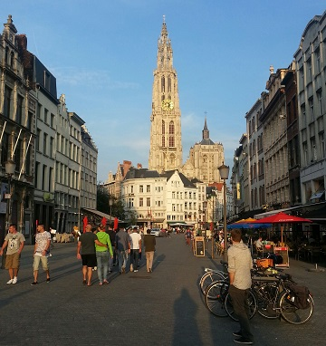 Beautiful Antwerp Belgium