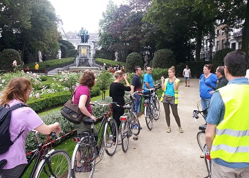 Brussels Bike Tour Gardens