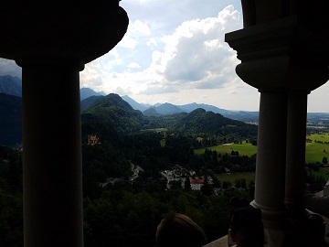 Neuschwanstein Castle View
