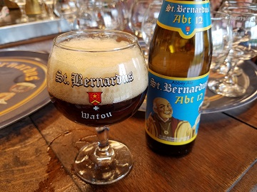 St Bernardus Abt 12 at the Brewery