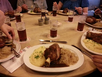 Zum Uerige Dinner and Dusseldorf Altbier